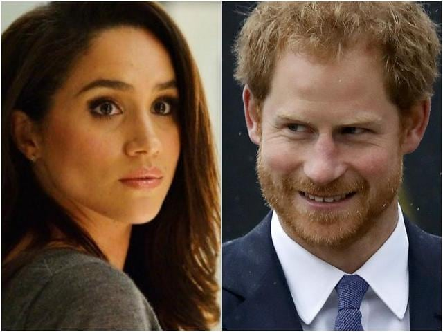 """Although the source says that Prince Harry and Meghan are taking the relationship slowly, he is said to be """"besotted"""" by the brunette beauty."""