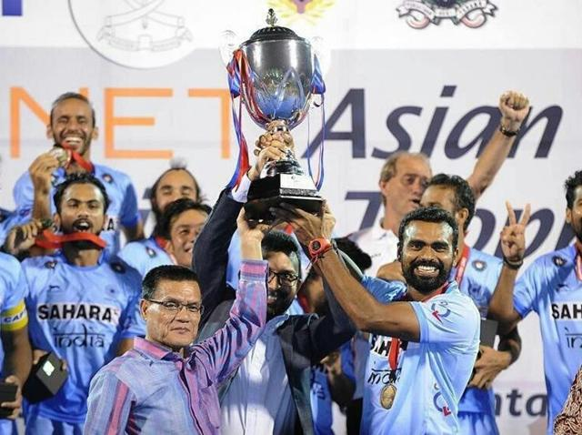 This is the second time India have won the Asian Championship title.