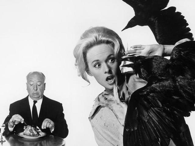Alfred Hitchcock,Tippi Hedren,The Birds