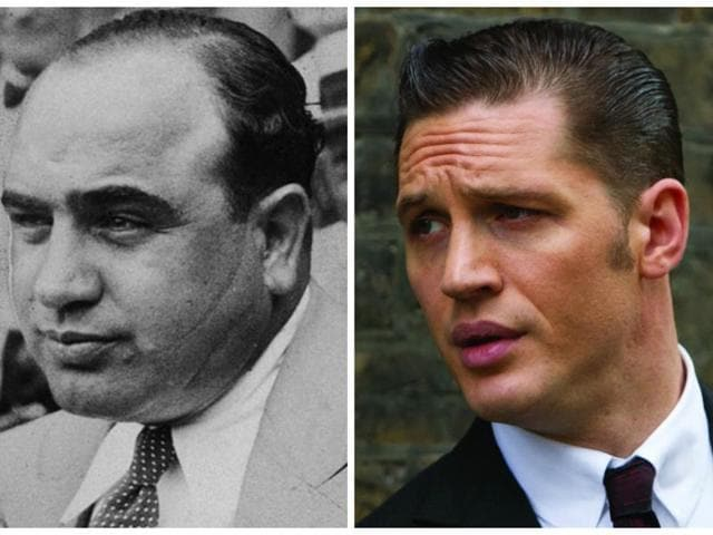 Al Capone has been played numerous times in film.