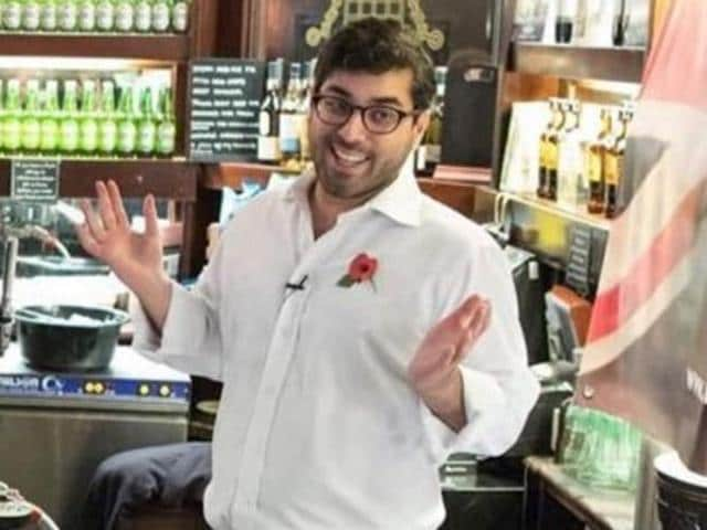 Raheem Kassam, the son of Indian immigrants from Tanzania, on Monday withdrew from the race to be the new leader of the UK Independence Party (UKIP).(Twitter)