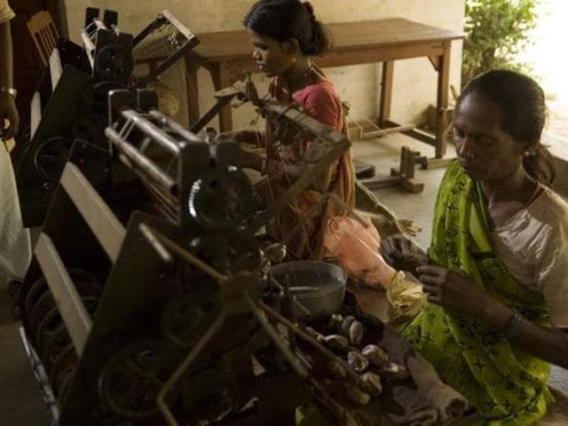 India is one of the world's largest textile and garment manufacturers. Many of the workers employed in this $40-billion-a-year industry are trapped in debt bondage, face abuse or are forced to work long hours in poor conditions, activists said.