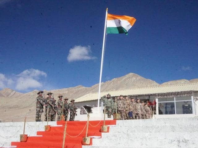 The Indian Army and China's People's Liberation Army held a ceremonial border personnel meeting at Chushul and Daulat Beg Oldie in eastern Ladakh on Monday.