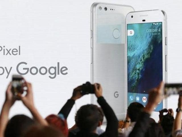 Google software now runs on 85 percent of the world's smartphones, but as voice control threatens to replace touch as the primary means of using a hand-held device, the company is experimenting with a different approach - more akin to Apple's tight integration of hardware and software.