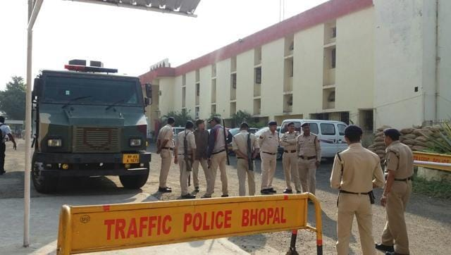 Eight suspected SIMI activists escaped on Monday after killing a guard in Bhopal central jail.