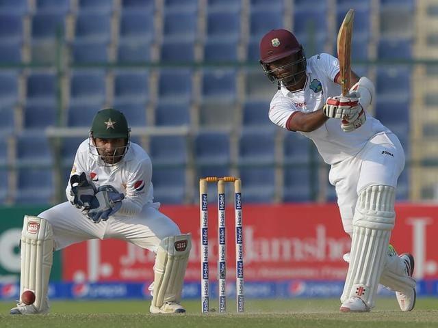 Kraigg Brathwaite,Pakistan vs West Indies,Sharjah