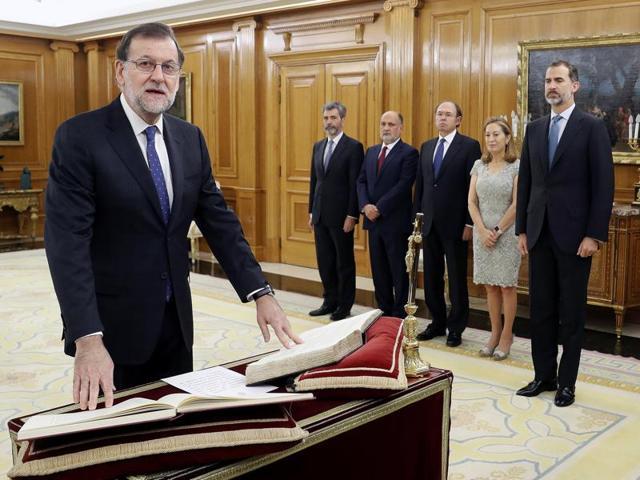 Spain,Prime Minister,Sworn in