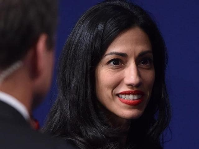 "When Hillary Clinton ran first for president in 2008, Huma Abedin (left) was by her side as the nominee's ""body woman"", a personal aide who carries everything from chewing gum to the boss's cellphone, and travelling chief of staff."