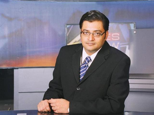 Leading news television personality and anchor of Newshour, Arnab Goswami, has resigned as editor-in-chief of Times Now.
