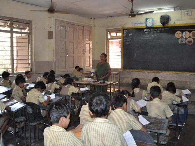 Under the no-detention policy, schools cannot fail students from Class 1 to Class 8.