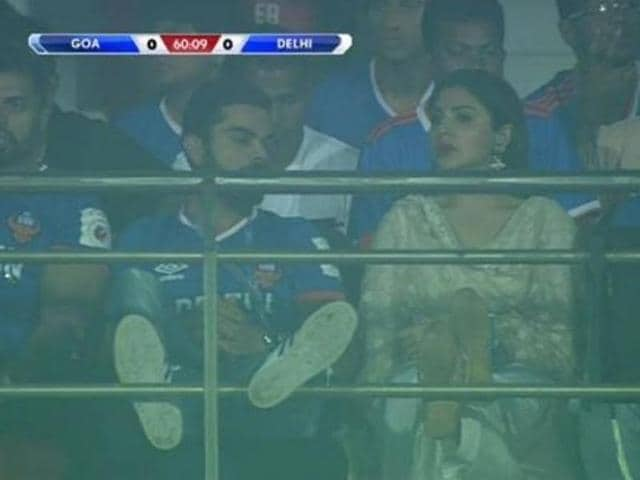 One of the country's most loved couples, known popularly as 'Virushka' by fans, they were recently spotted at an ISL match in Goa.