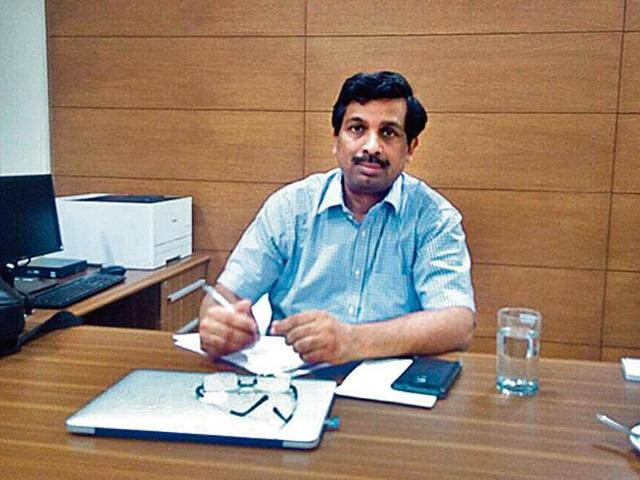 IASofficer VUmashankar took charge as officer on special duty of the proposed Gurugram Development Authority on Monday.