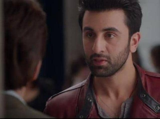 The moment when SRK makes an appearance in ADHM.
