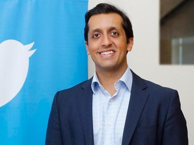 Jaitly was the vice-president of Twitter's Asia Pacific and Middle East business. He will leave the company at the end of November after four years of service.