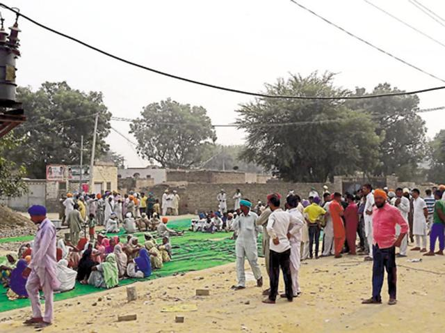 Youth killed,Mansa village,kin protest