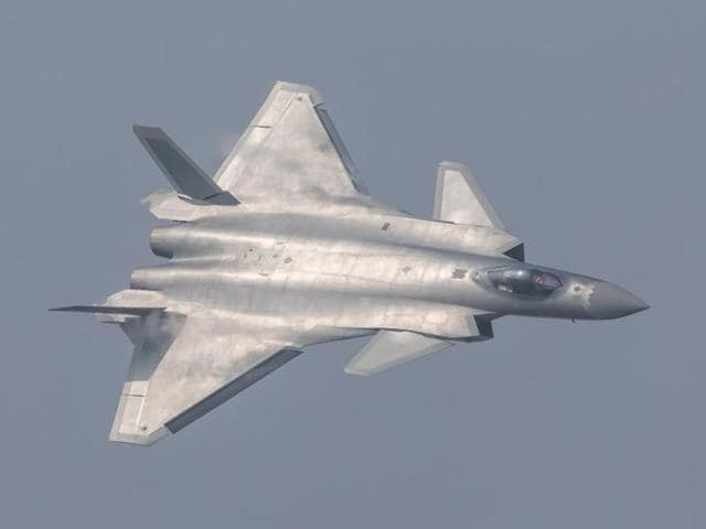 China unveiled its secretive J-20 stealth fighter at the  air show in Zhuhai, Guangdong Province.
