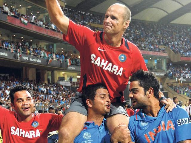 Gary Kirsten coached India to victory in the 2011 World Cup while he helped South Africa attain the No.1 ranking in Tests.