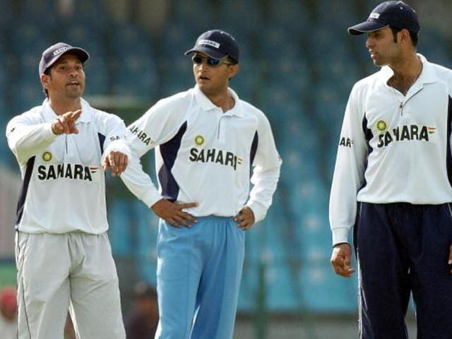 In his illustrious Test career, VVS Laxman (right) scored 17 centuries and 56 fifties with an impressive average of 45.97 and alongside Sachin Tendulkar (right), Sourav Ganguly and Virender Sehwag (not in pic) formed the famous 'Fab Four' of Indian cricket.