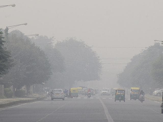According to the Central Pollution Control Board (CPCB) data, which is being provided by the HSPCB, initial data on Monday showed that the PM2.5 level was 223 µg/m³. The permissible limit is 60µg/m³.