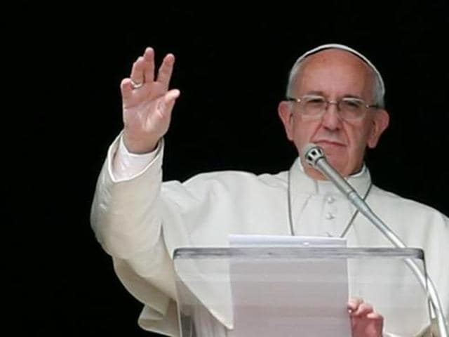 Pope Francis said he believes the Roman Catholic Church's ban on women becoming priests is forever and will never be changed