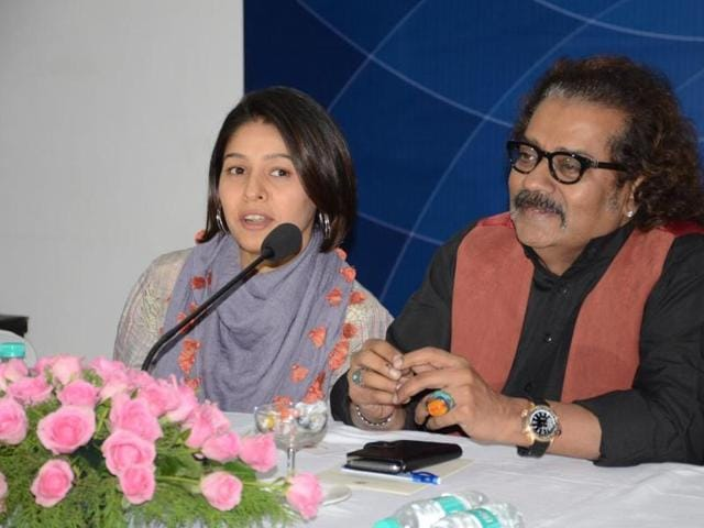 Hariharan and Sunidhi Chauhan were in Bhopal to perform for the Madhya Pradesh Foundation Day.