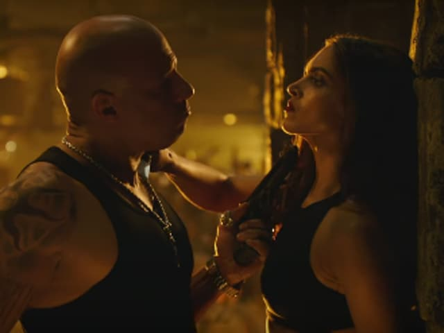 Looks like Deepika is on Vin Diesel's team now.