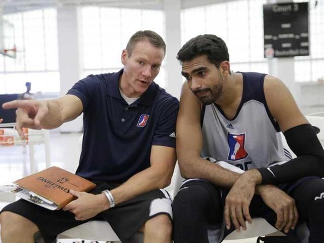 NBA D-League,Palpreet singh Brar,Satnam Singh Bhamara