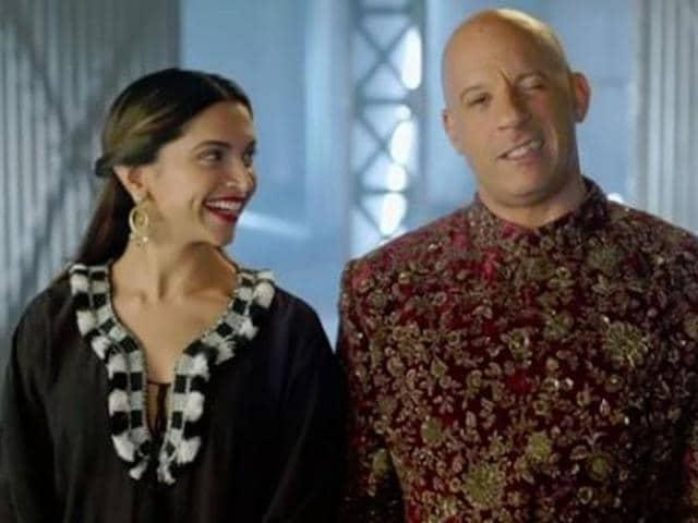 Vin Diesel,Shah Rukh Khan,Deepika PAdukone