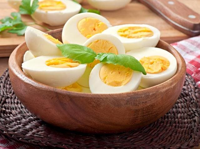 One large egg boasts six grams of high-quality protein and antioxidants lutein and zeaxanthin, found within the egg yolk, as well as vitamins E, D, and A, the study said.(Shutterstock)
