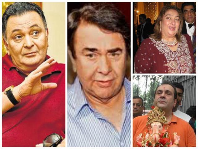 Bhai Dooj,Kapoor brothers Rishi Randhir Rajiv,Raishi Kapoor