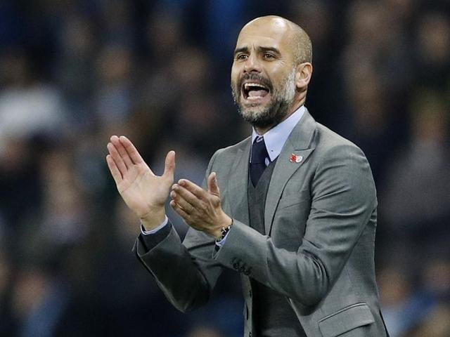 Guardiola's side can progress to the last 16 with a win over Borussia Moenchengladbach in their next game.