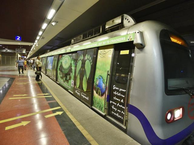 Delhi Metro parking fares were last revised in 2013.