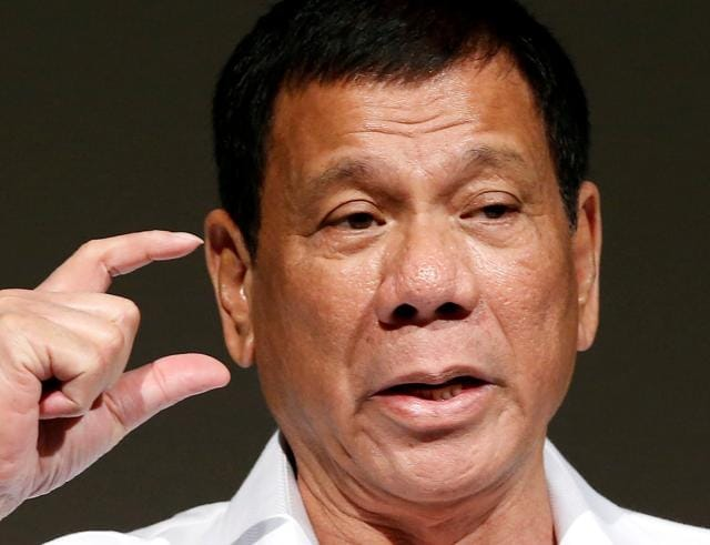 Philippine President Rodrigo Duterte said on Wednesday he once believed in Washington, but had since lost respect for what is the Philippines' biggest ally.