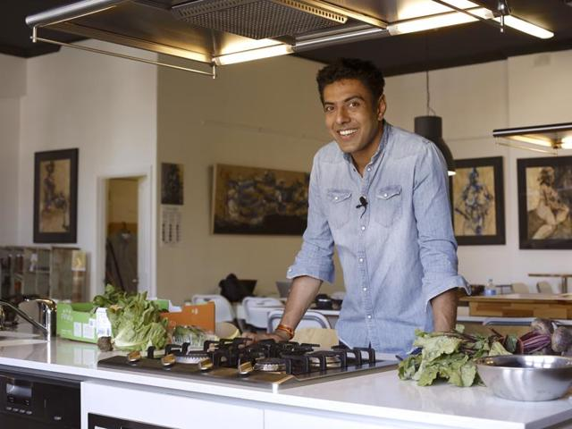 Chef Ranveer Brar thinks writing a book was a great way to express what he believes in and his unique style of cooking.