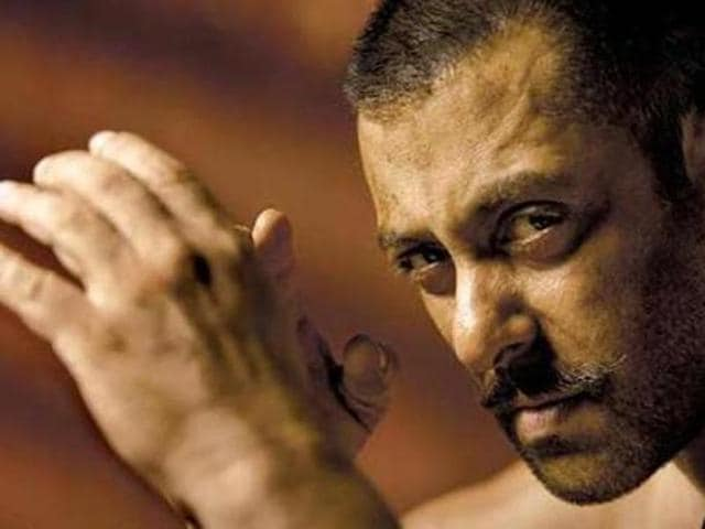 Salman Khan has four pet dogs.
