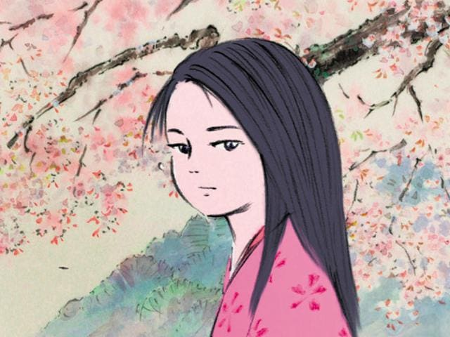 Japanese anime film, The Tale of the Princess of  Kaguya was nominated for the Academy Award for Best Animated Feature in 2015