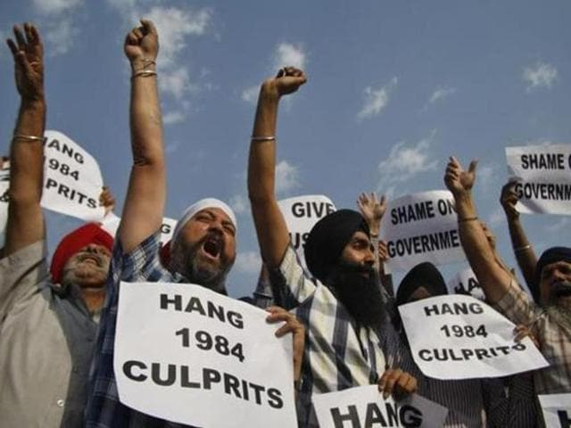 1984 anti-Sikh riots,anti-Sikh riots,Punish conspirators