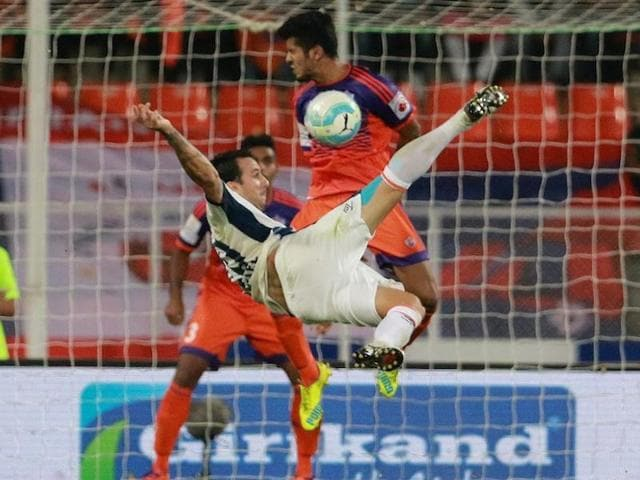 The win helped FC Goa move to the seventh spot with seven points from eight matches while FC Pune City are now at the bottom with six points from seven matches.