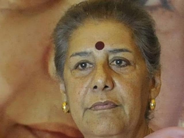 """Ambika Soni says Harish Rawat's chief ministerial candidature is """"unquestionable""""."""