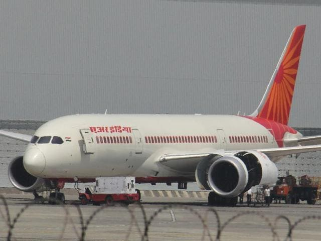 An Air India Airbus at the Mumbai international airport. The aviation ministry has directed the airline to implement stricter norms to ensure mishaps do not occur.