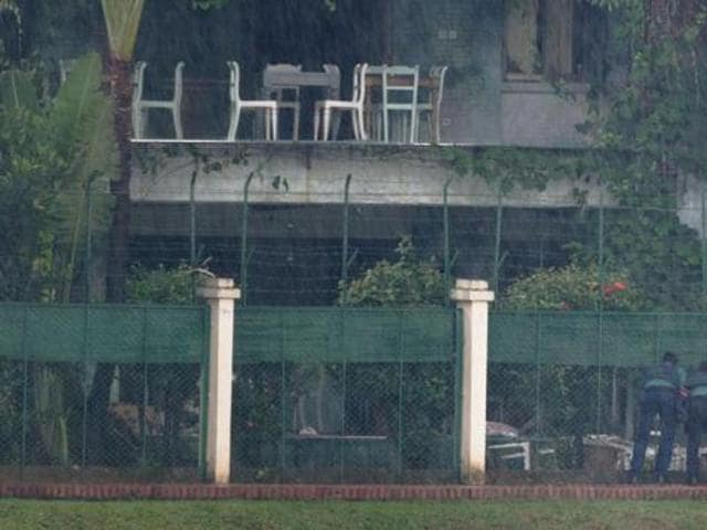 An upscale cafe in Dhaka day that witnessed a bloody siege ended with the death of 20 foreign hostages.