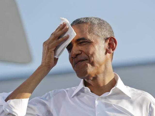 Obama echoed the views of his former secretary of state at an election rally in Raleigh, North Carolina, on Wednesday.