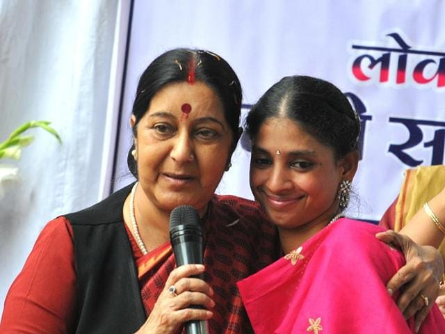 Sushma Swaraj is very popular for her prompt interventions on social media is yet to respond)