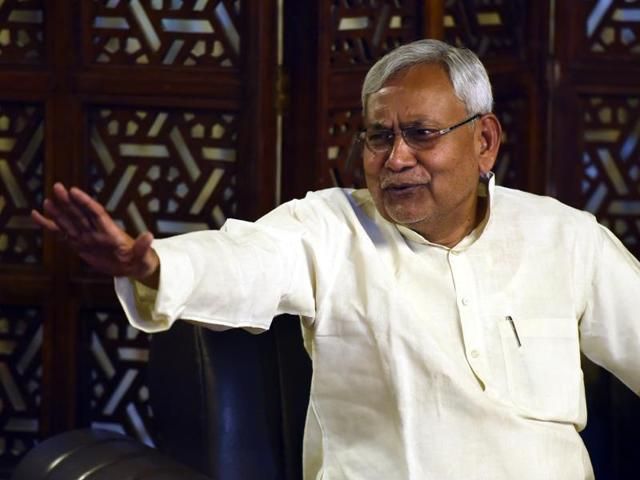 Bihar chief minister Nitish Kumar said the SP has to join hands with archrival BSP for a grand alliance to materialise.