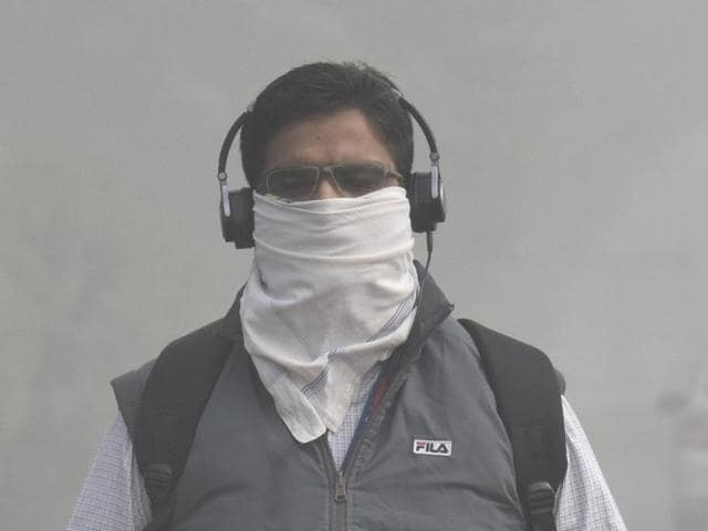 The national capital has been engulfed in a thick cover of pollutant-laden smog for the past few days, primarily after Diwali, forcing the residents to inhale 'severe' quality air.