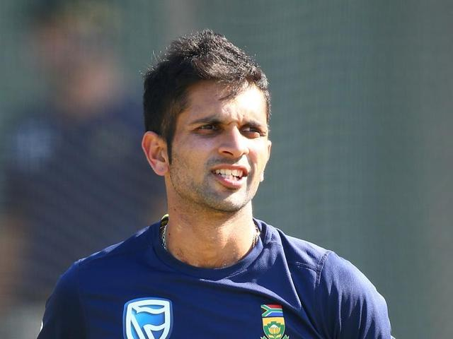 Keshav Maharaj's father Athmanand could not play for South Africa due to apartheid.