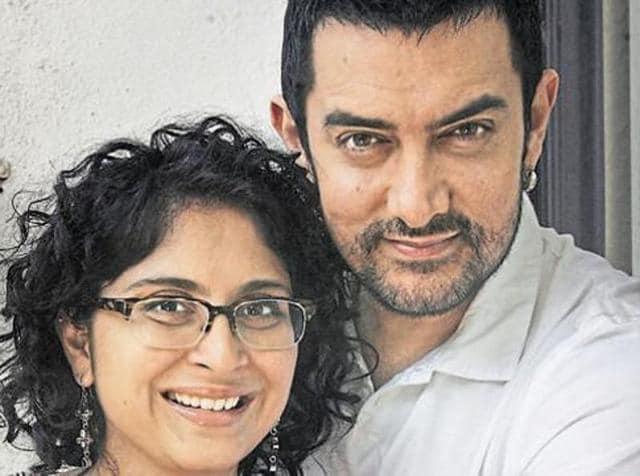Aamir Khan and Kiran Rao met on the sets of Lagaan.