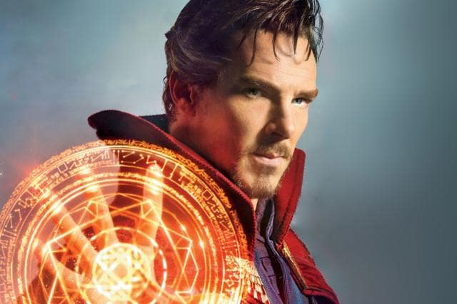 In his goatee and cloak, Benedict Cumberbatch makes for a fetching saviour of humanity, but the plot just doesn't hold up.
