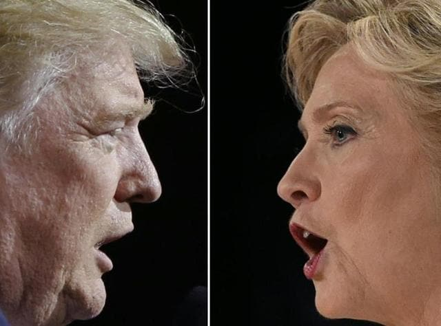 US presidential election,Donald Trump,Hillary Clinton
