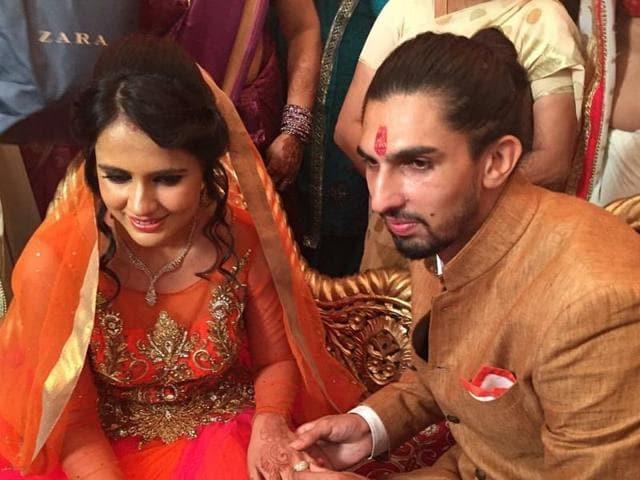 Ishant Sharma will marry Pratima Singh on December 9.
